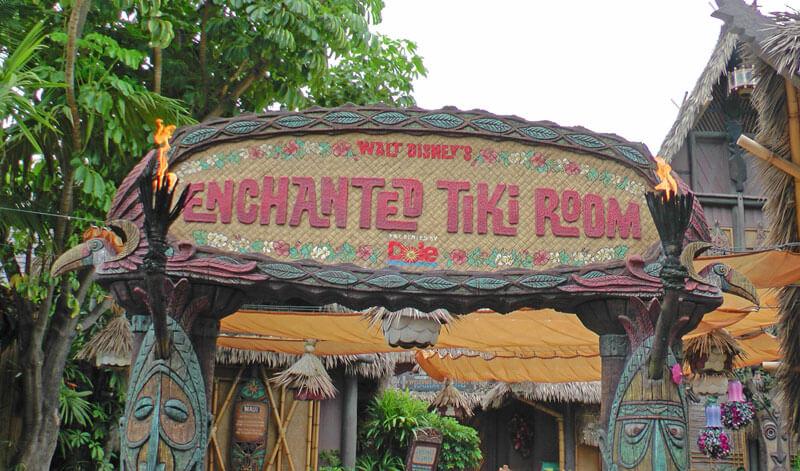 Secret History of the Enchanted Tiki Room