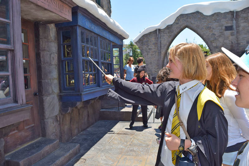 Best Theme Parks in California by Age Group - Casting a Spell at Universal Studios Hollywood