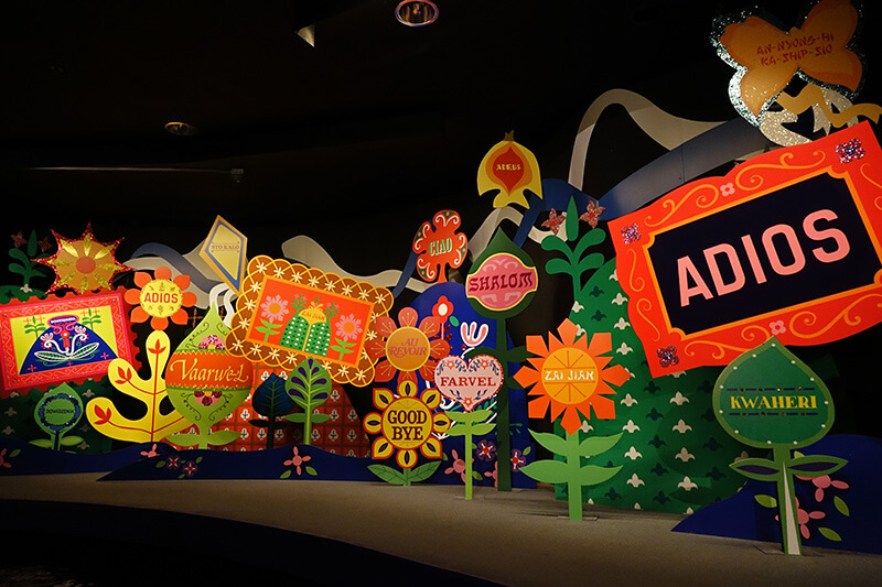 Ending of It's a Small World