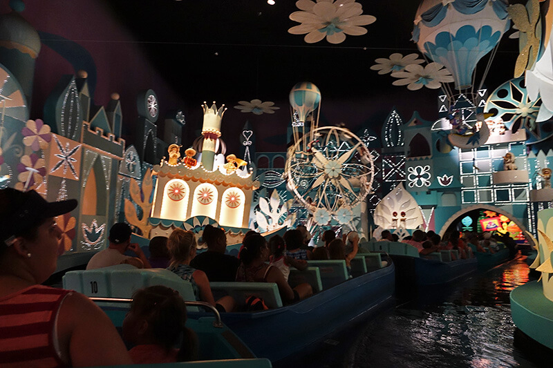 It's a Small World Boat