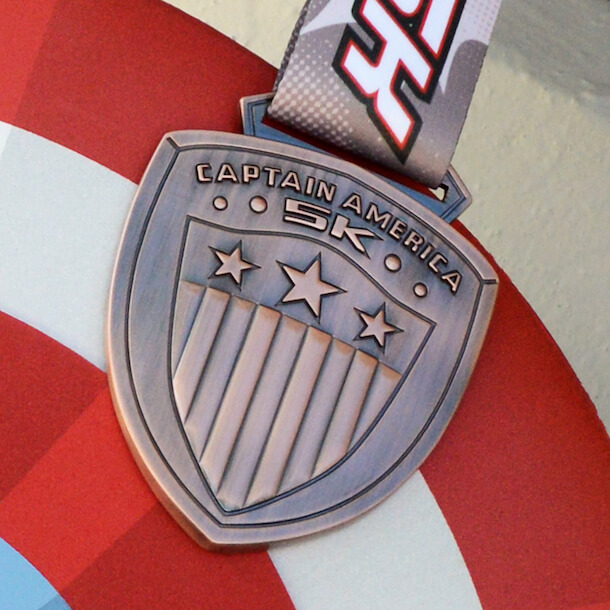 Super Hero 5K Medal at Disneyland