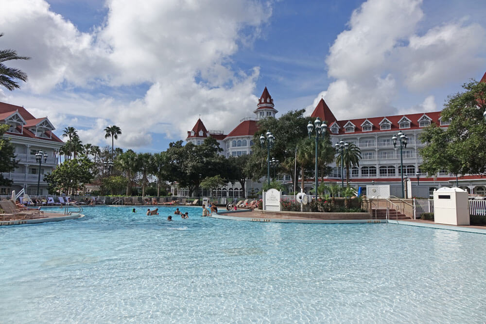 Best Pools at Disney World - Courtyard Pool at Disney's Grand Floridian