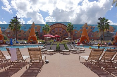 Best Disney World Pools - Cozy Cone Pool at Disney's Art of Animation's Art of Animation