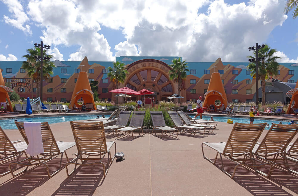 Best Pools at Disney World - Cozy Cone Pool at Disney's Art of Animation