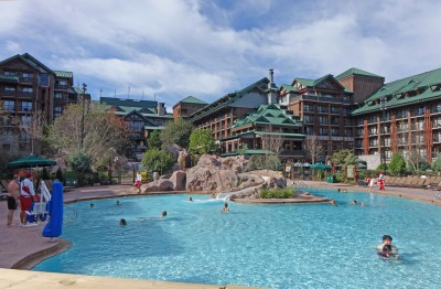 Best Disney World Pools - Silver Creek Springs at Disney's Wilderness Lodge's Wilderness Lodge