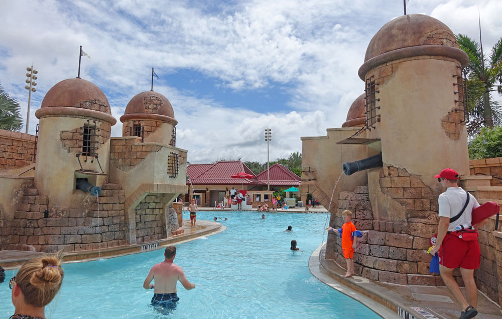 Best Pools at Disney World - Disney's Caribbean Beach