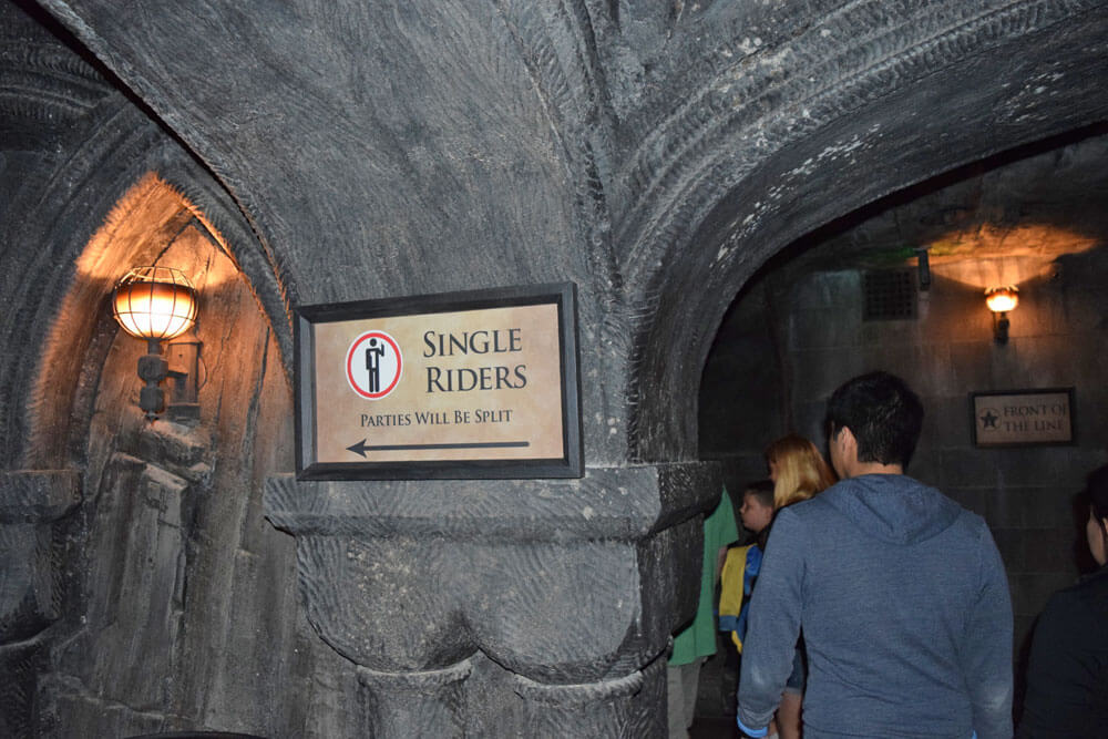 Universal Studios Tips - Harry Potter and the Forbidden Journey Single Rider Line Universal Studios Hollywood