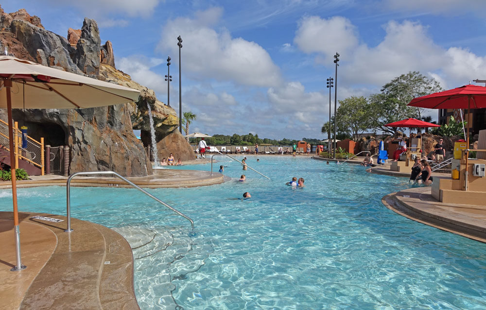Best Pools at Disney World - Lava Pool at Disney's Polynesian Resort