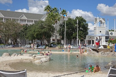 Best Disney World Pools - Stormalong Bay at Disney's Beach and Yacht Club Resorts's Beach and Yacht Club Resorts