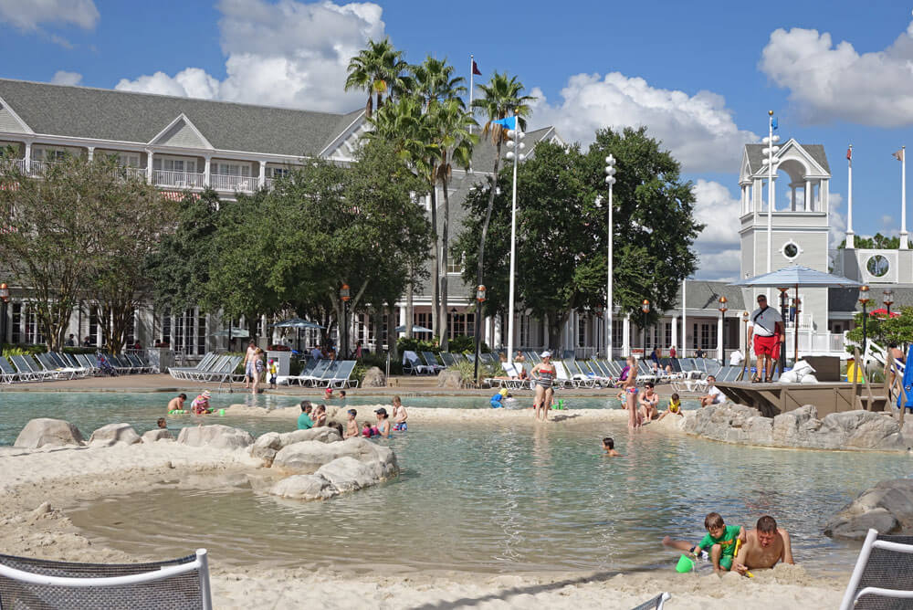 Best Pools At Disney World Stormalong Bay S Beach And Yacht Club Resorts
