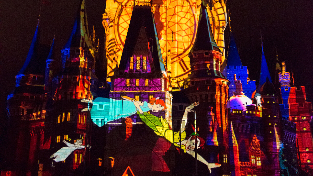 "What's Coming to Disney World in 2016 - ""Once Upon a Time"" Projection Show"