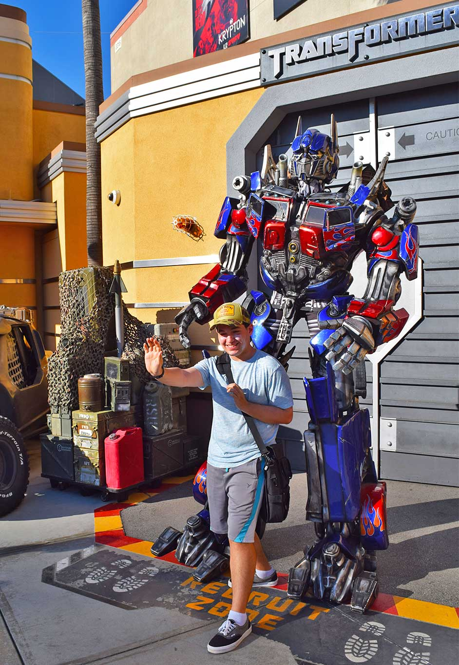Universal Studios Hollywood Attraction Assistance Pass-transformers