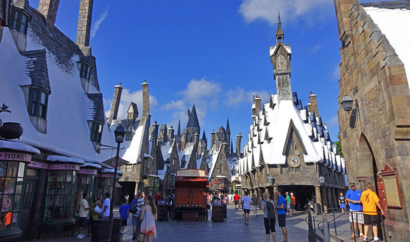 Full List of Disability Access for Universal Orlando Attractions - Islands of Adventure (Hogsmeade)