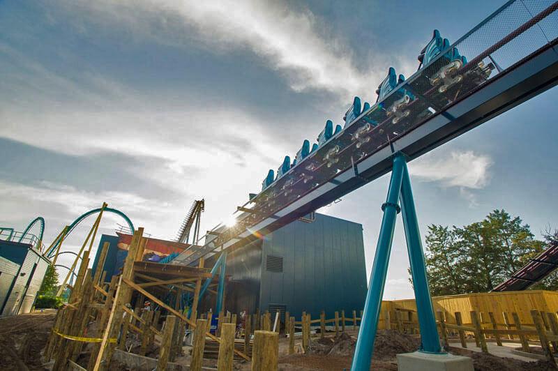 Best Bi-Coastal Roller Coasters - Mako Tracks