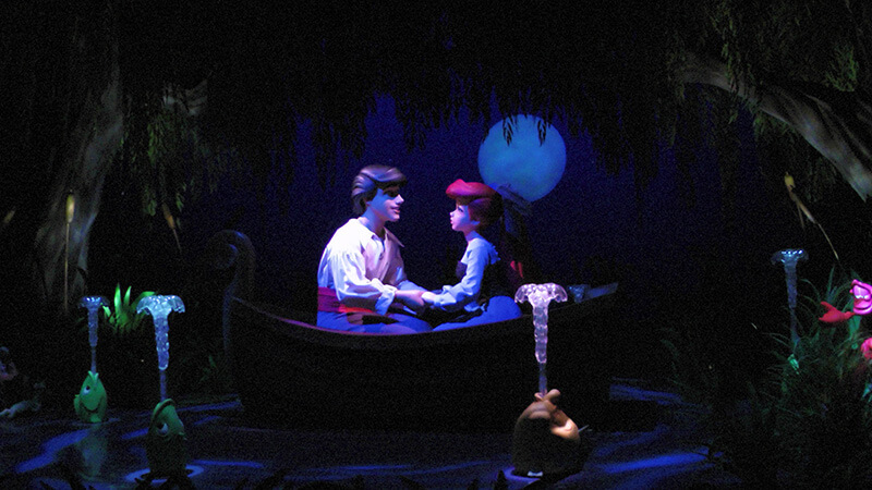 The Secret History of Disney Rides: Under the Sea ~ Journey of the Little Mermaid -Prince Eric and Ariel