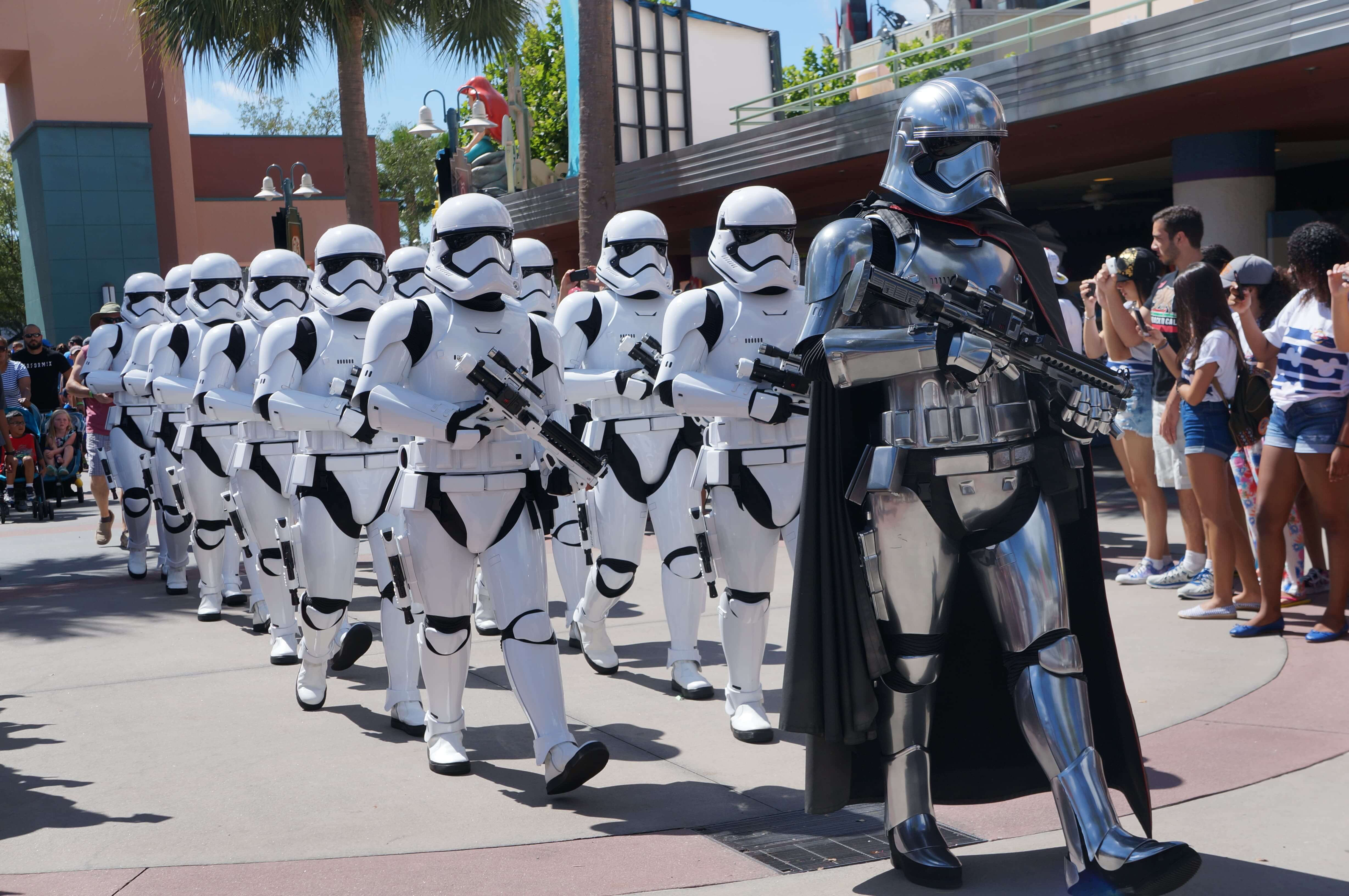 Experience Star Wars at Hollywood Studios - The March of the First Order