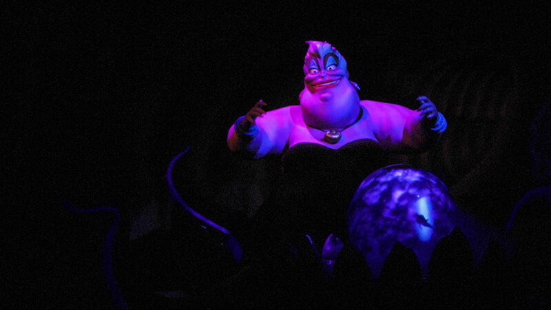 The Secret History of Disney Rides: Under the Sea ~ Journey of the Little Mermaid - Ursula