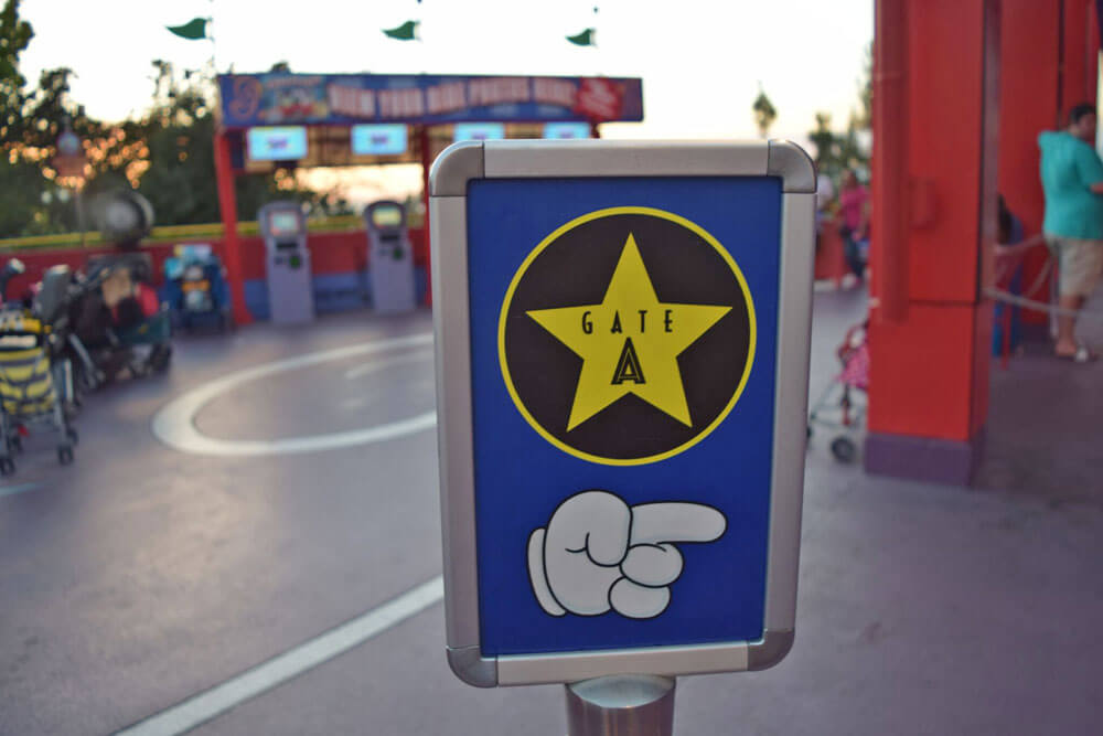 Universal Studios Hollywood Guest Assistance Pass (GAP) - Gate A Simpsons Ride
