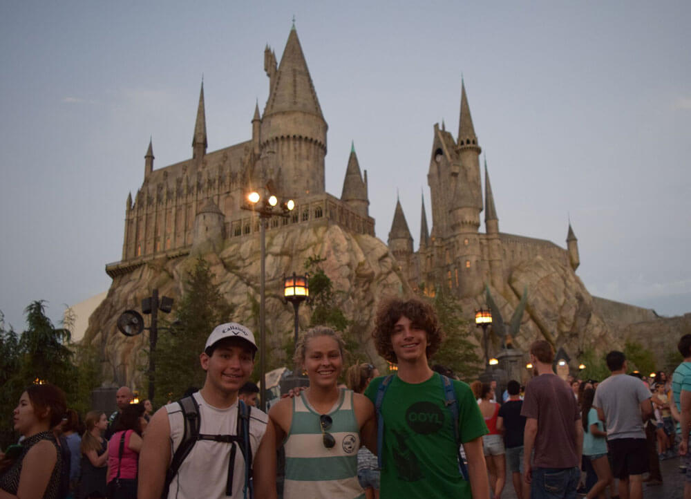 Universal Studios Hollywood Guest Assistance Pass (GAP) - Hogwarts at Night