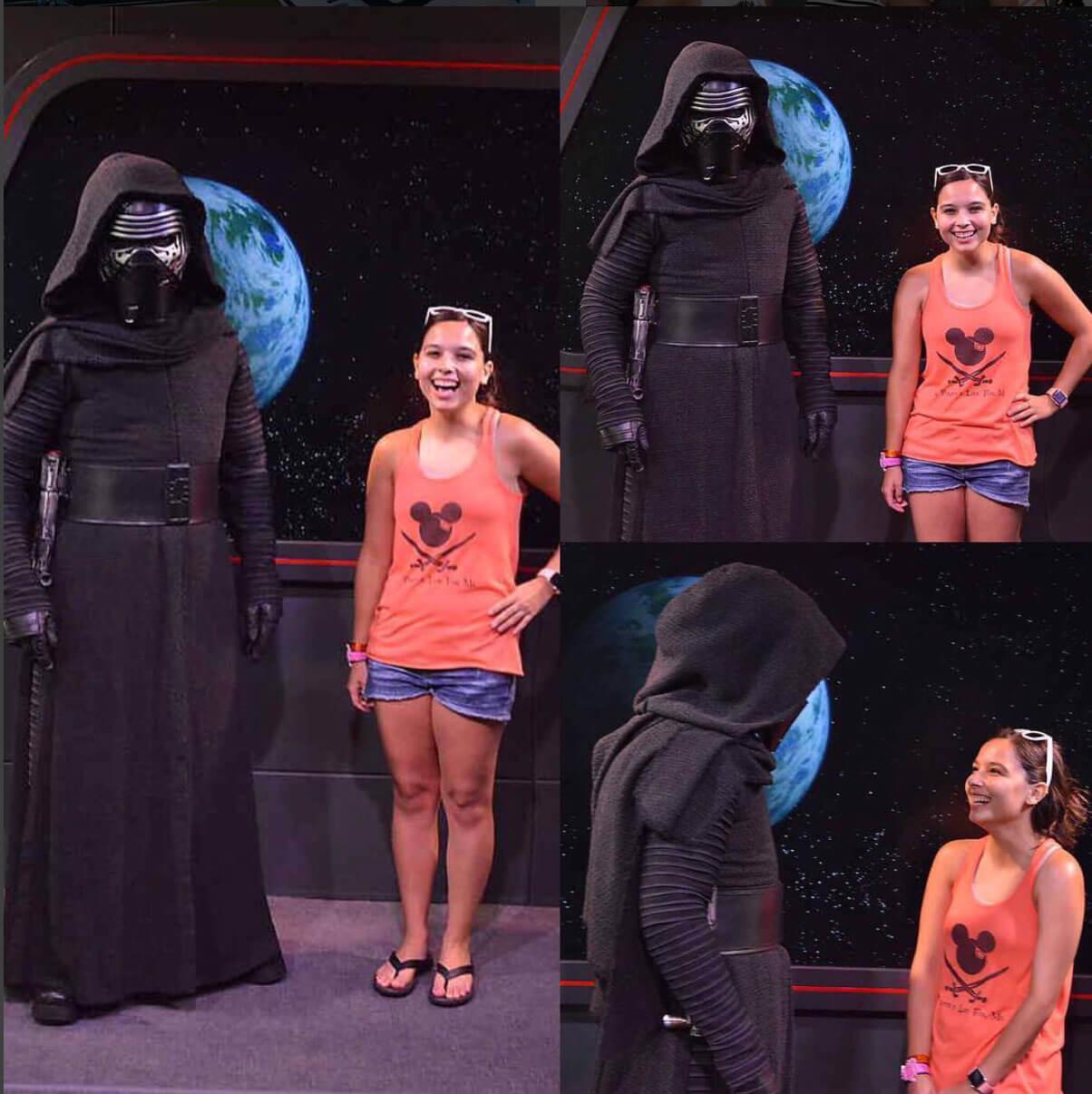 Experience Star Wars at Hollywood Studios - Meeting Kylo Ren