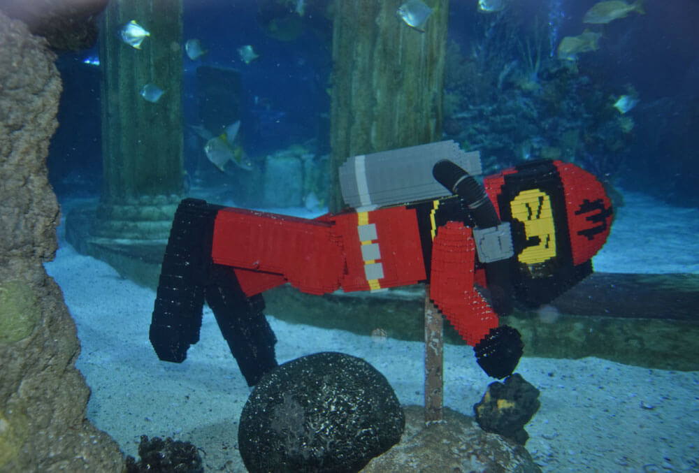Save on LEGOLAND Water Park & Sea Life Aquarium - Lego Man