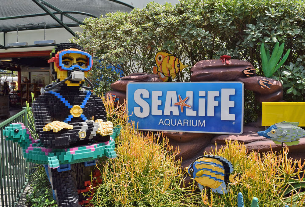 Save on LEGOLAND Water Park & Sea Life Aquarium - tickets