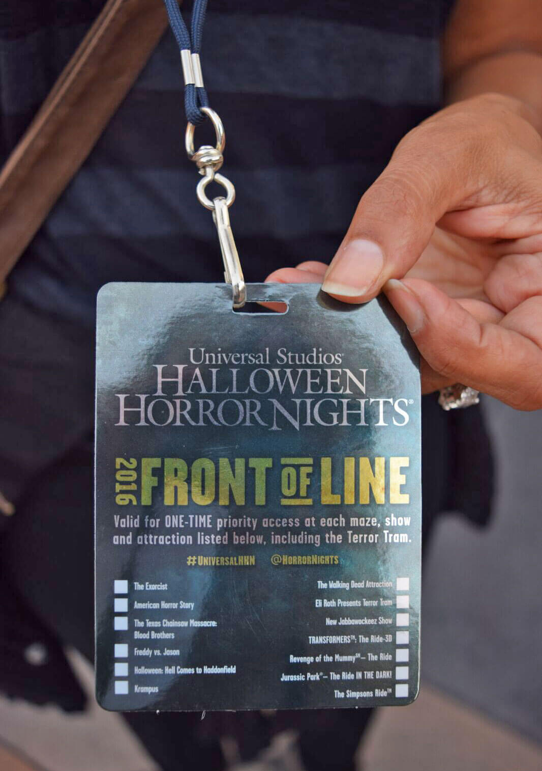 Halloween Horror Nights Hollywood Survival Guide 2017