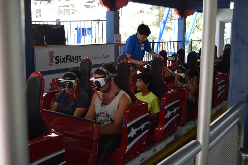 Best Seats on the Coaster at Six Flags Magic Mountain - The New Revolution