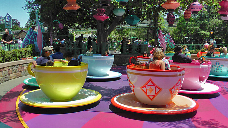 The Secret History of Disney Rides: Mad Tea Party - Disneyland's Mad Tea Party