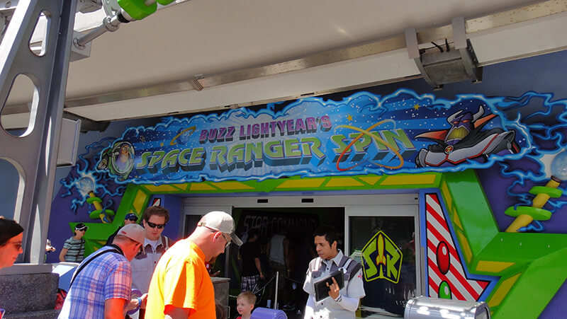The Secret History of Disney Rides: Buzz Lightyear's Space Ranger Spin - Buzz Lightyear's Space Ranger Spin