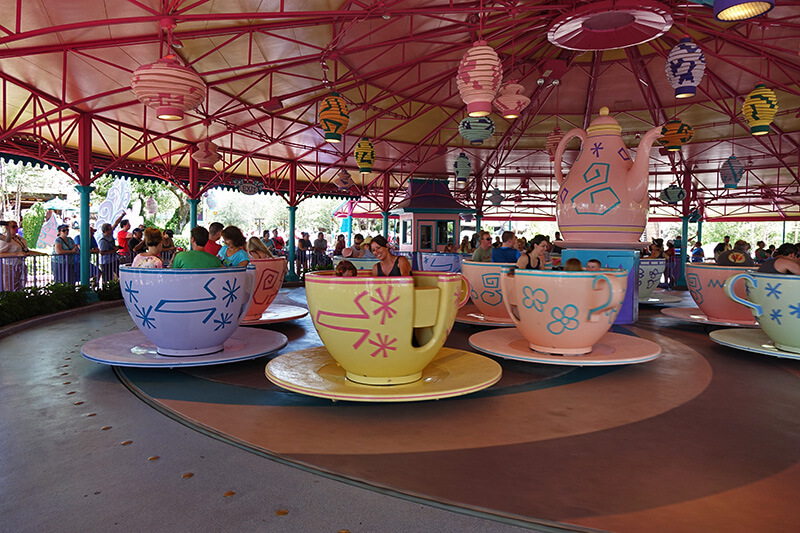 The Secret History of Disney Rides: Mad Tea Party - WDW's Mad Tea Party