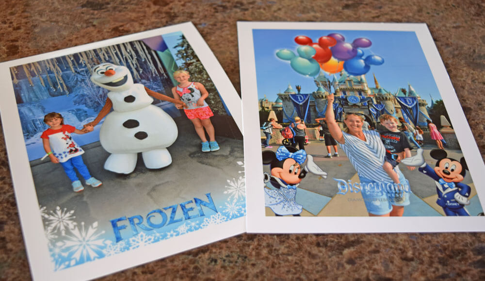 Disneyland PhotoPass Prints