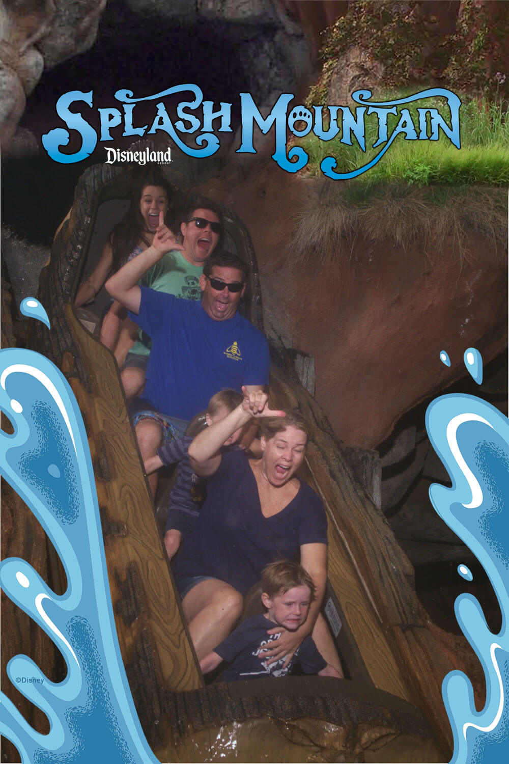 Disneyland PhotoPass - Splash Mountain