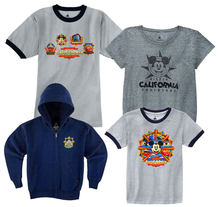 New Disney California Adventure merchandise is available for September in Disneyland Resort