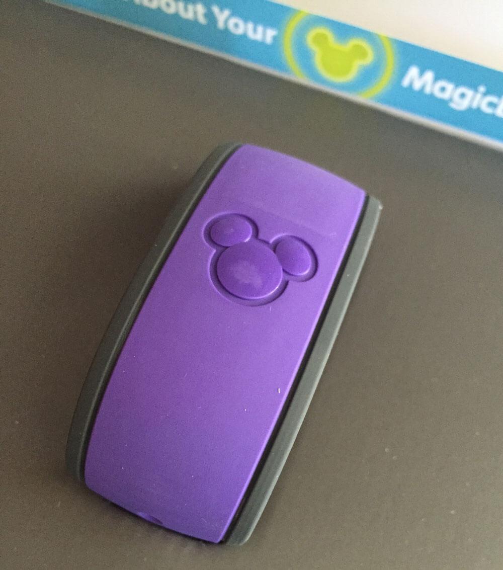 Disney MagicBand Customization Options - Purple MagicBand
