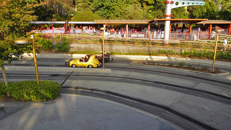 The Secret History of Disney Rides: Tomorrowland Speedway - Autopia