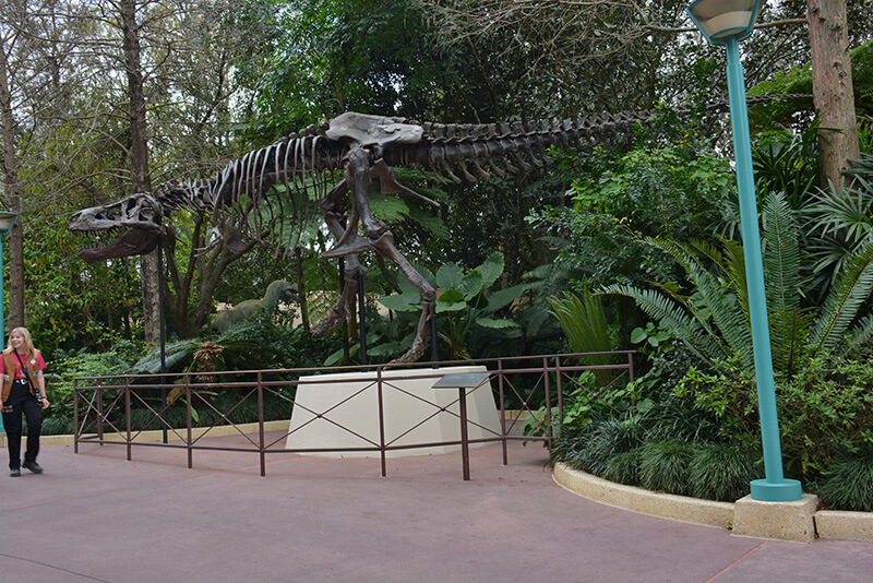 The Secret History of Disney Rides: DINOSAUR - Dinosaur Skeleton