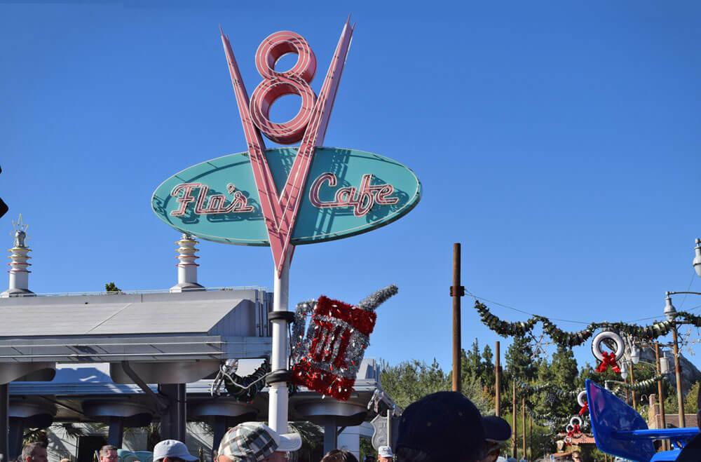 Disneyland Thanksgiving Dinner - Flo's V8 Cafe at Disney California Adventure