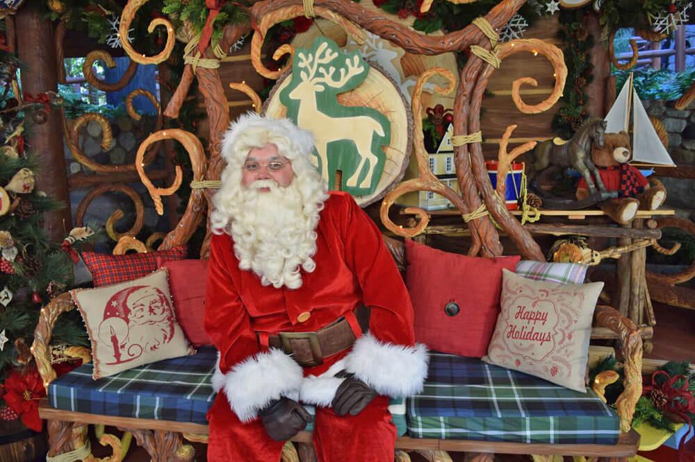 Guide to Holidays at Disneyland 2016 - Meet Santa at Disney California Adventure