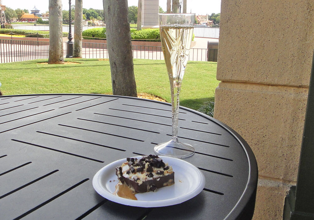 Romancing the Epcot Food and Wine Festival - Champagne and Desserts