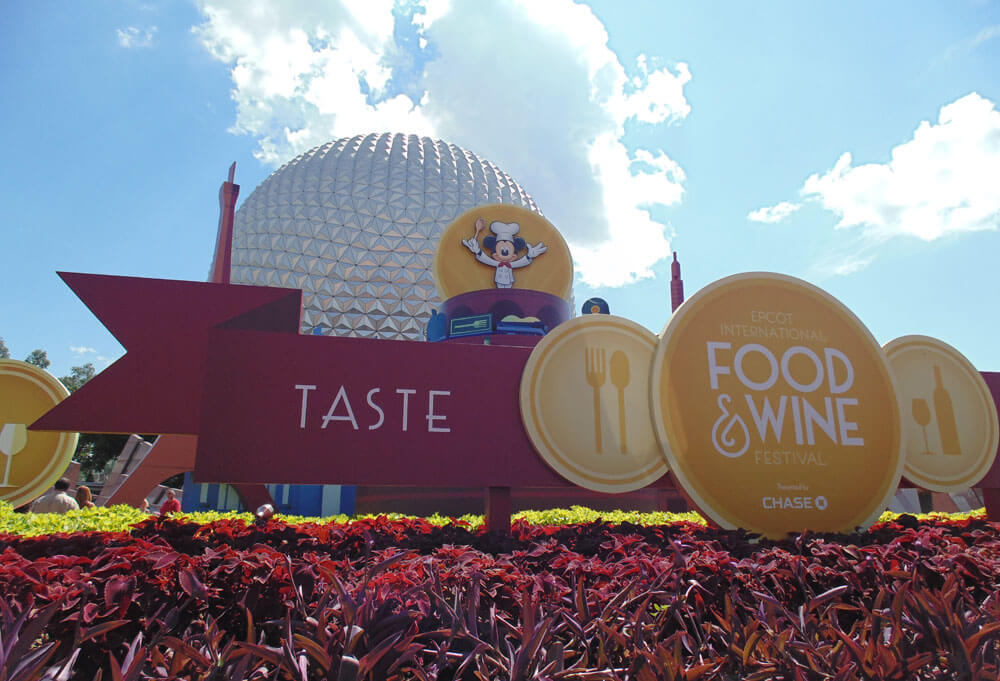Romancing the Epcot Food and Wine Festival - Signage