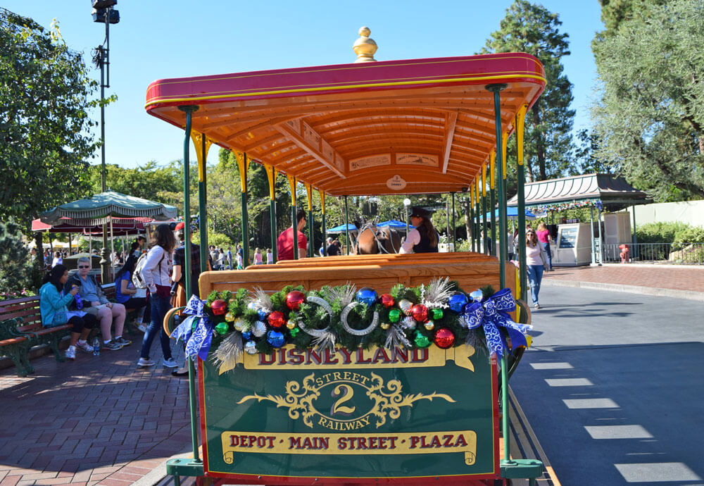 Holidays at Disneyland 2018 - Trolley