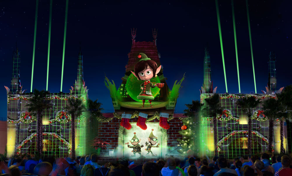 New Year's Eve at Disney World - Jingle Bell, Jingle BAM! at Disney's Hollywood Studios