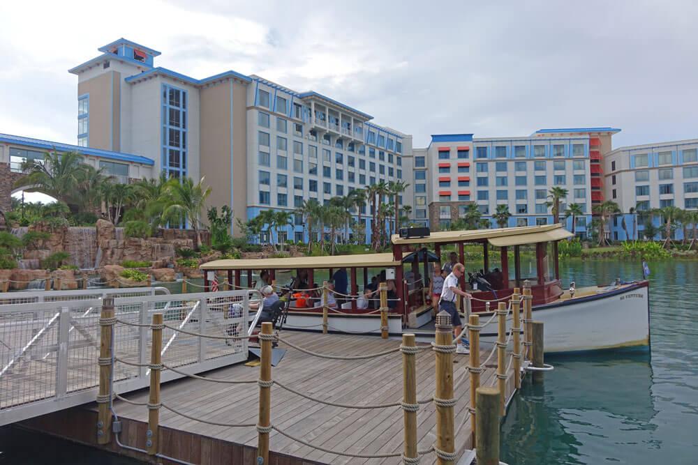 Loews Sapphire Falls Resort at Universal Orlando - Water Taxi