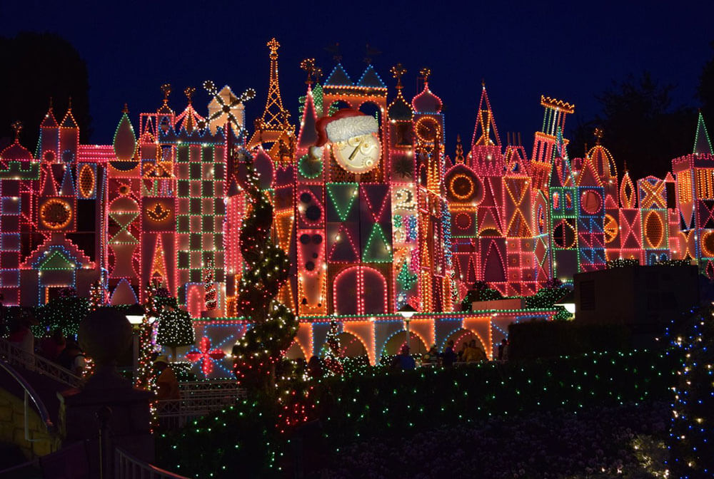 guide to holidays at disneyland 2018 its a small world - When Does Disneyland Decorate For Christmas 2017