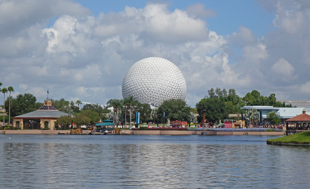 Epcot Passport - World Showcase Waterfront
