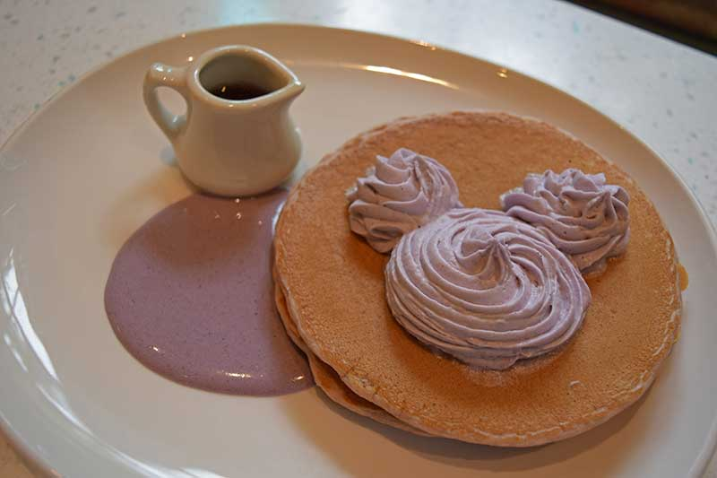 Breakfast at Disneyland - Mickey Pancakes