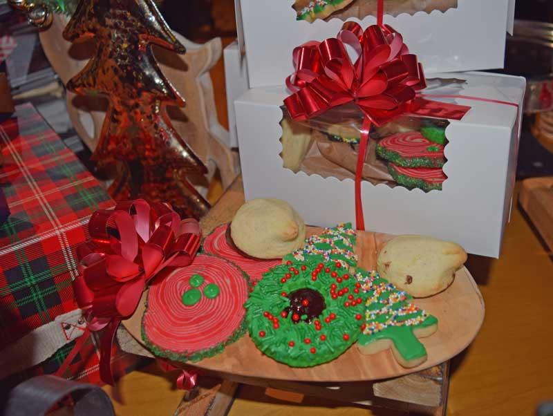 Holiday Treats at Disneyland - Wrapped Cookies