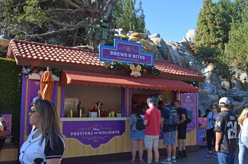 Holiday Treats at Disneyland - Disney California Adventure Festival of the Holidays Eats