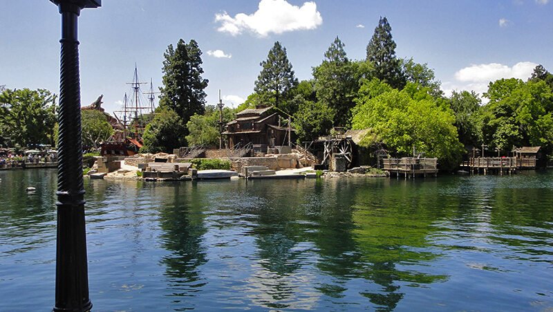 The Secret History of Disney Rides: Tom Sawyer Island - Pirate's Lair